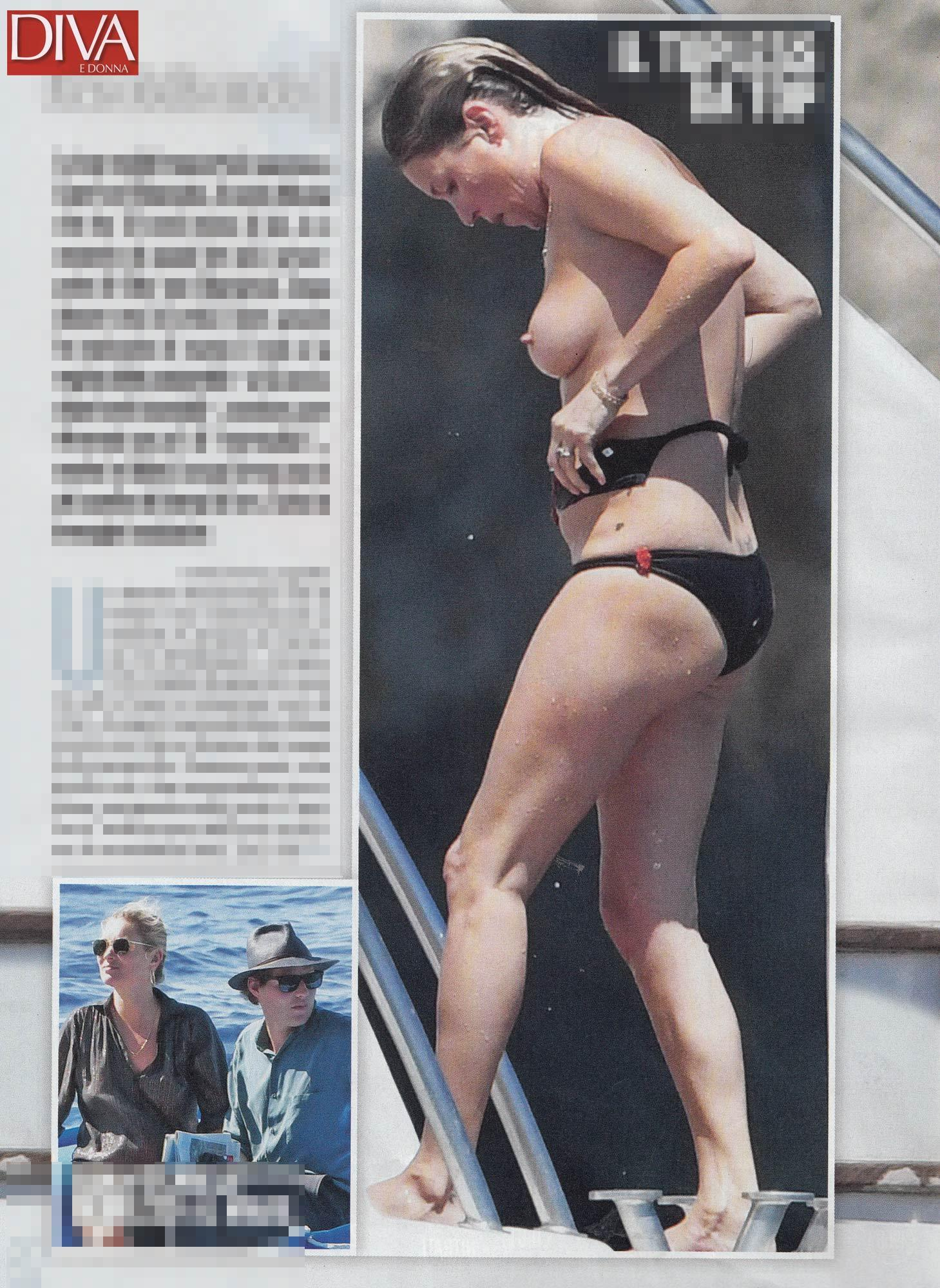 Kate Moss, un topless da top