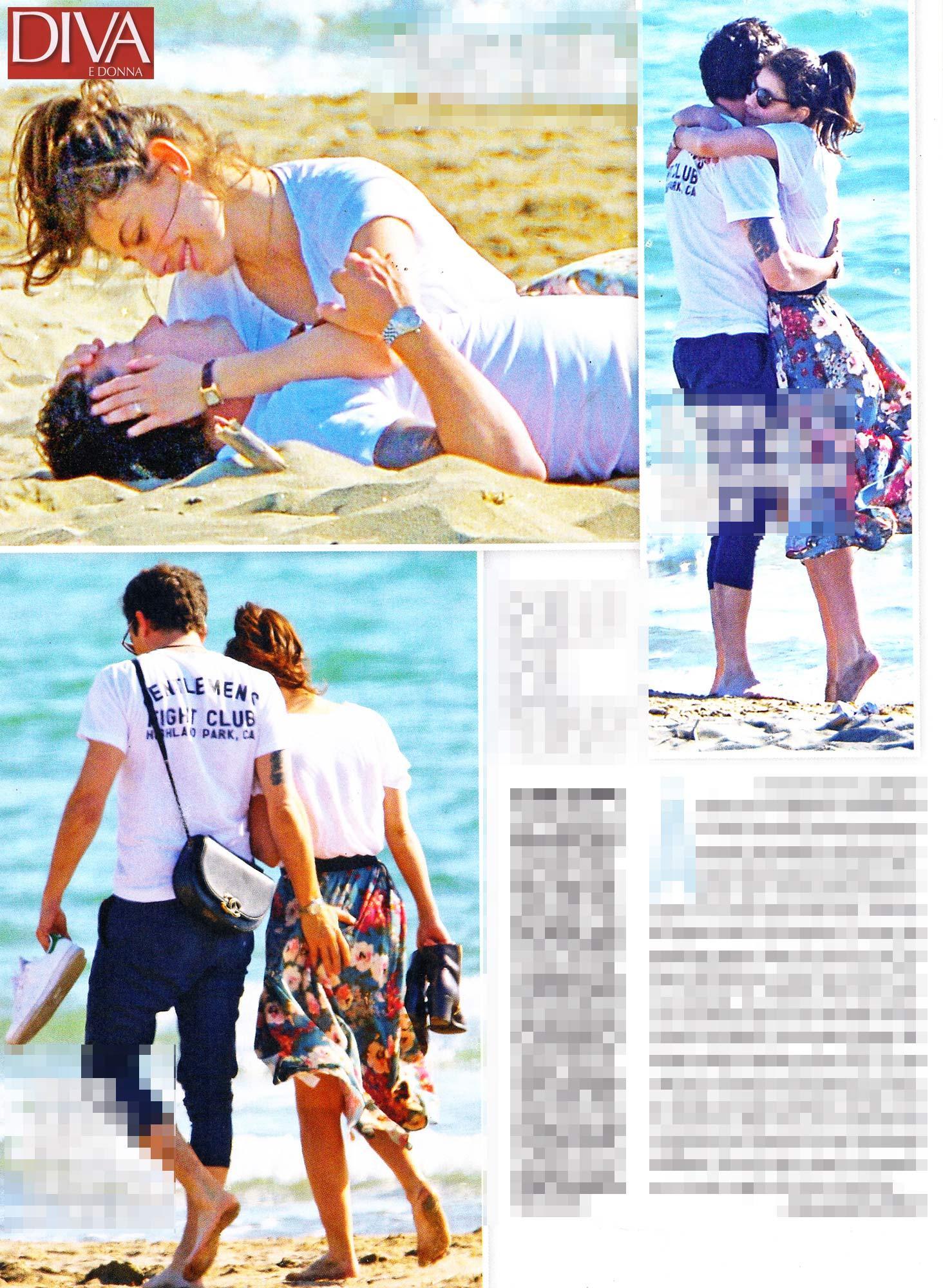 Alessandra Mastronardi, scandalo al sole con il fidanzato