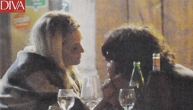 Carolina Crescentini a cena col nuovo amore