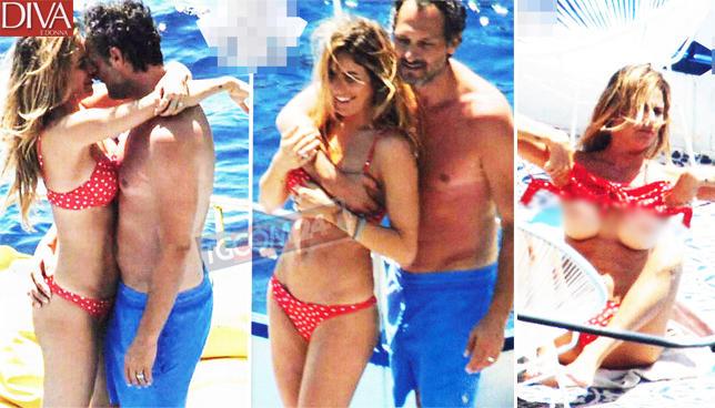 Per la Pedron e Troiano vacanze al top(less) a Pantelleria