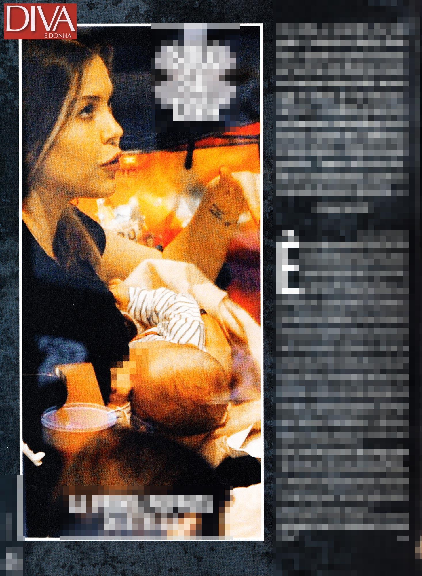 Caracciolo-Vieri, la prima poppata pubblica di Stella