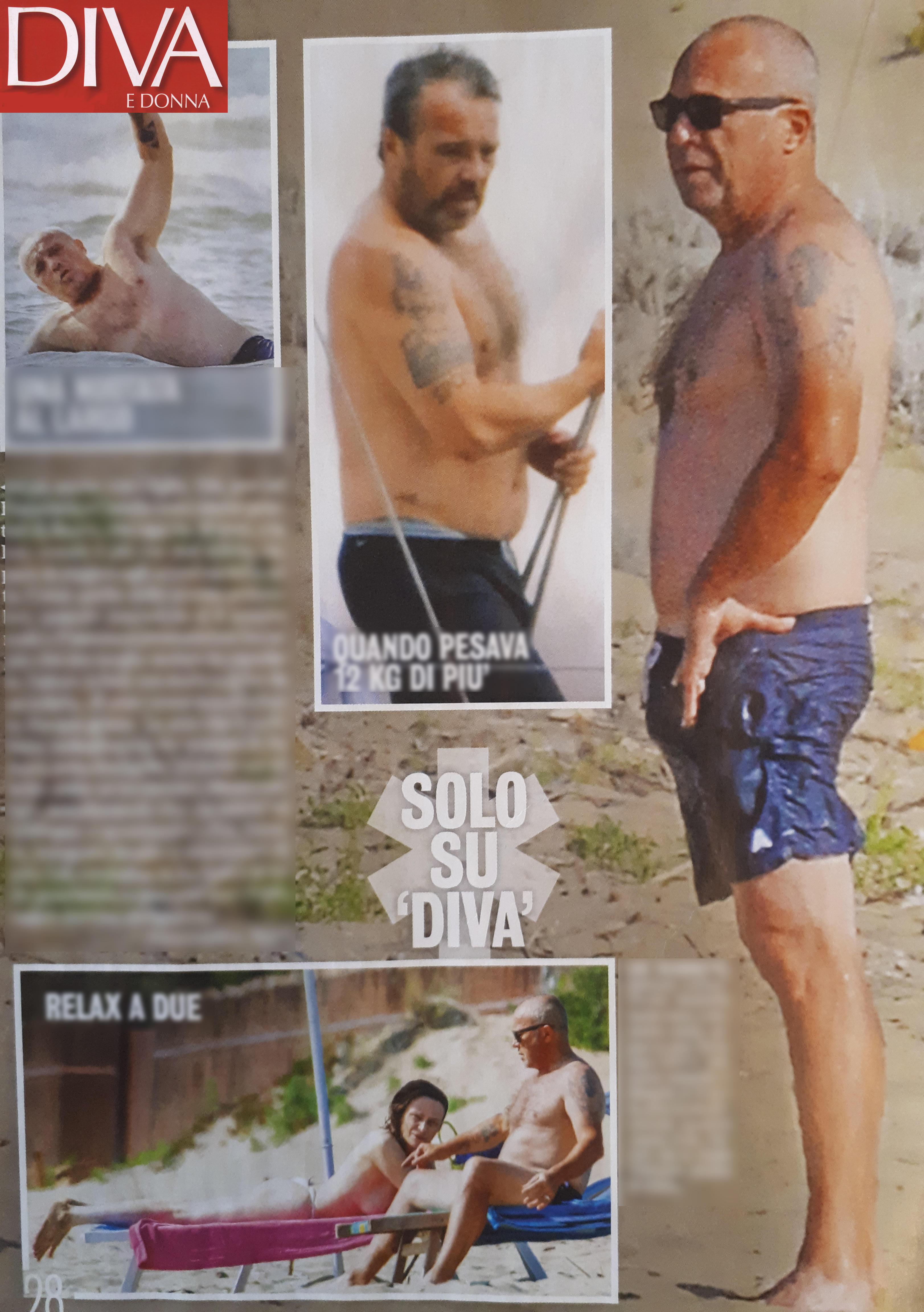 Francesca Neri, che topless a 54 anni!