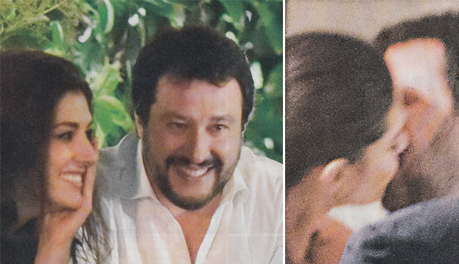 Elisa Isoardi e Matteo Salvini non si nascondono più
