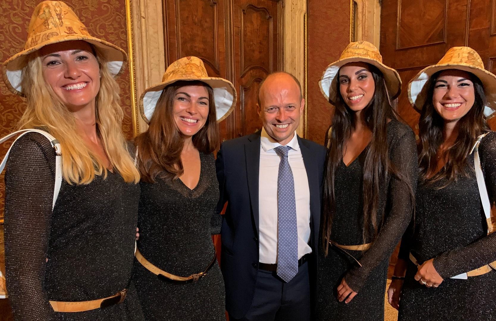 Donnaventura sul red carpet di Venezia