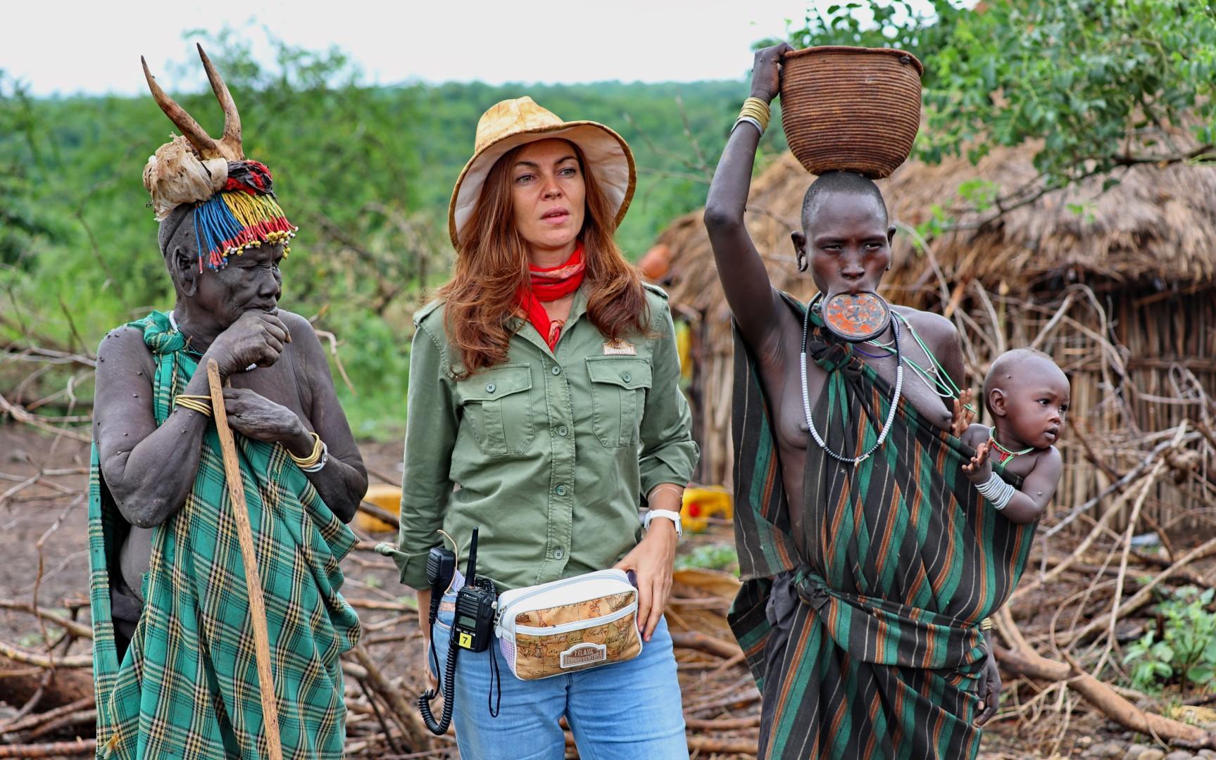 Donnavventura: in Etiopia tra il popolo Mursi