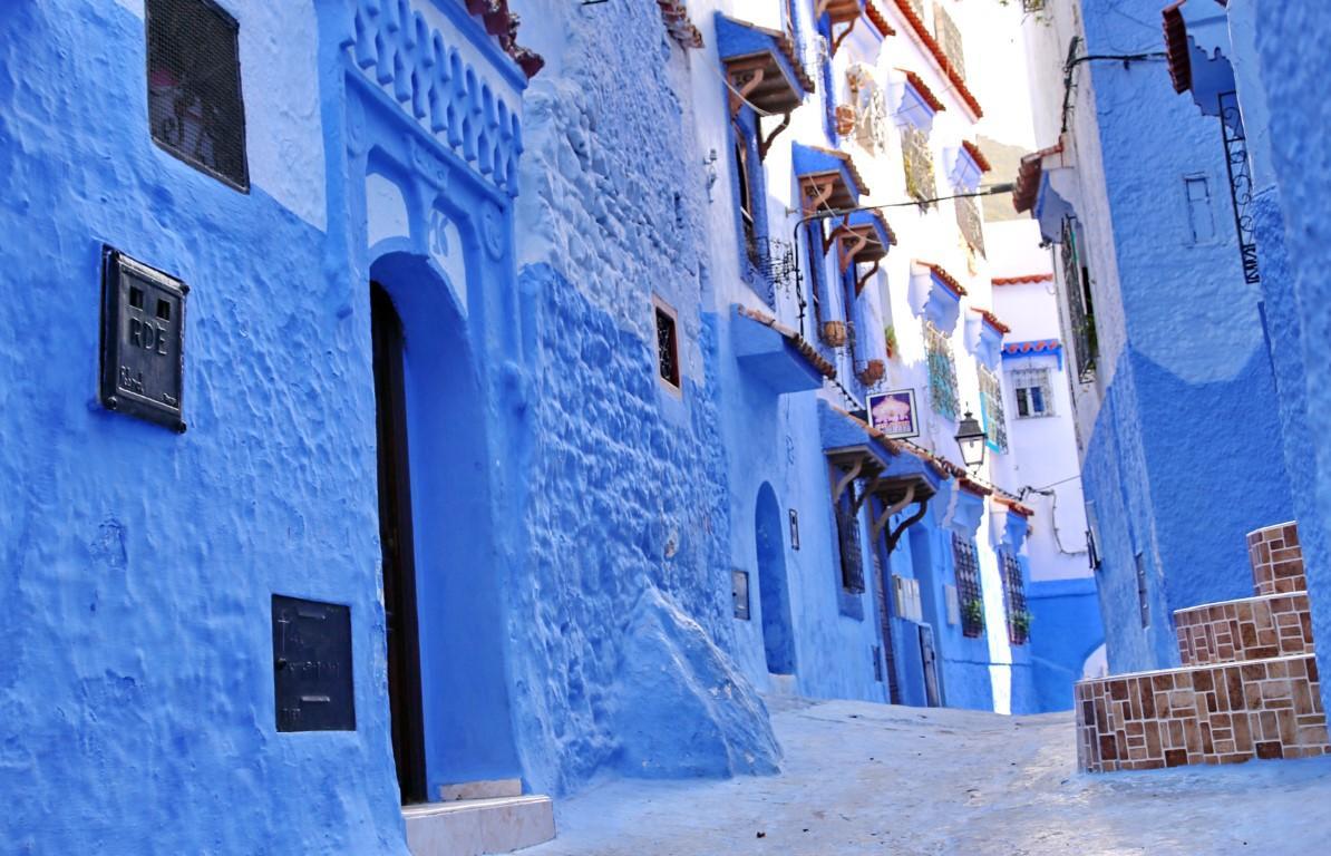 Case Blu Marocco : Donnavventura: chefchauen la perla blu del marocco tgcom24