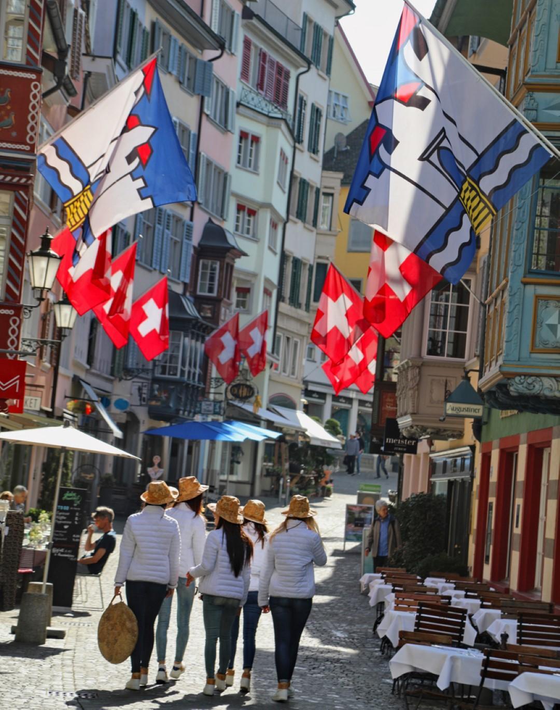Donnavventura Green: da Lucerna a Saint Moritz
