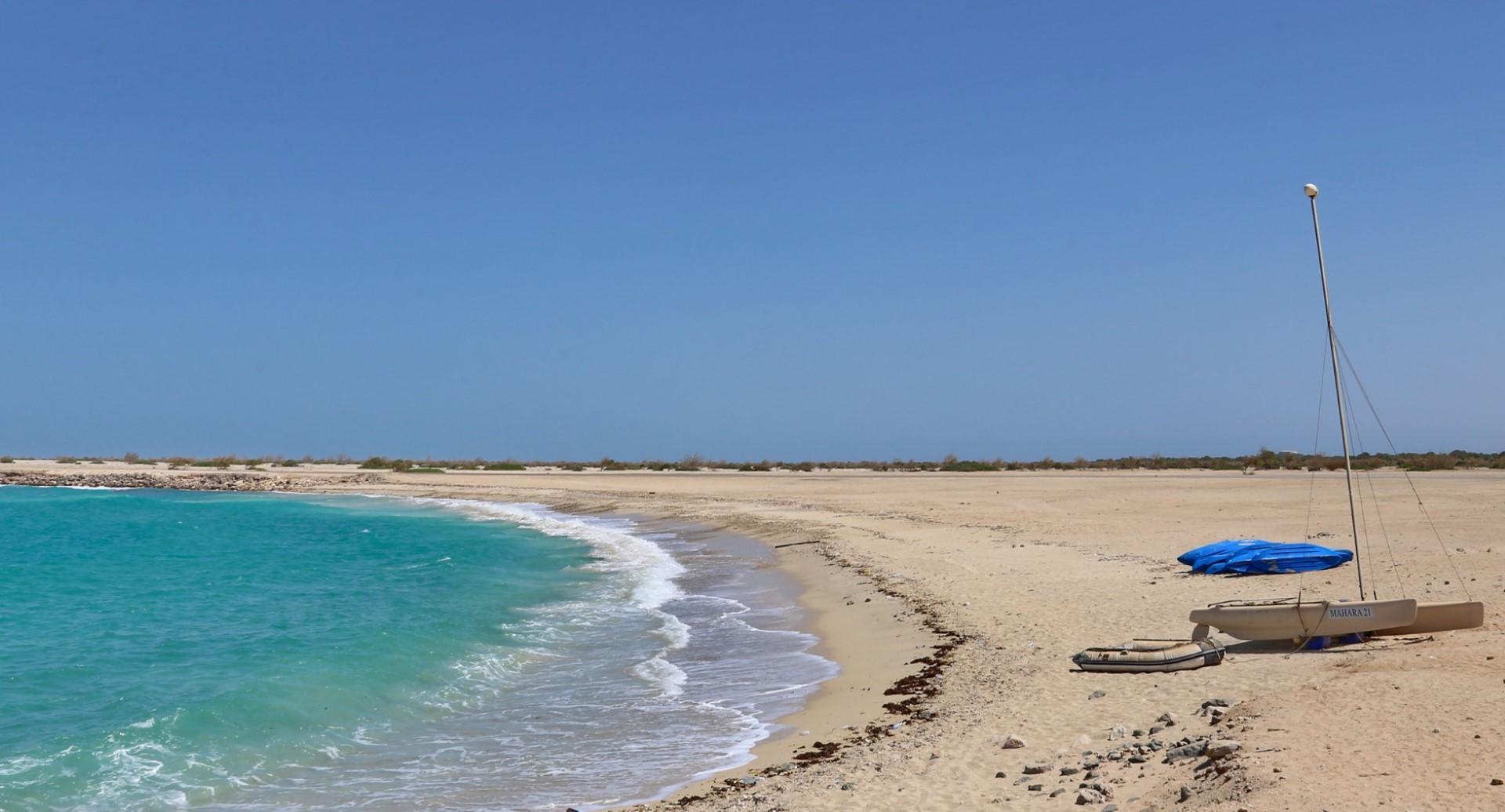 Il mare di Abu Dhabi