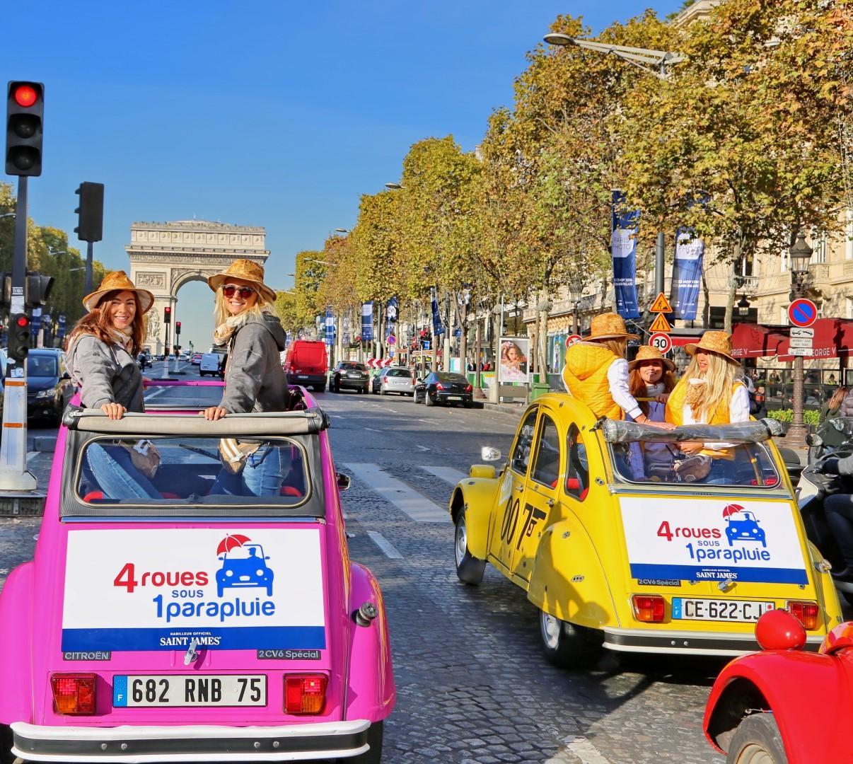 Donnavventura: alla scoperta di Parigi con la mitica 2CV