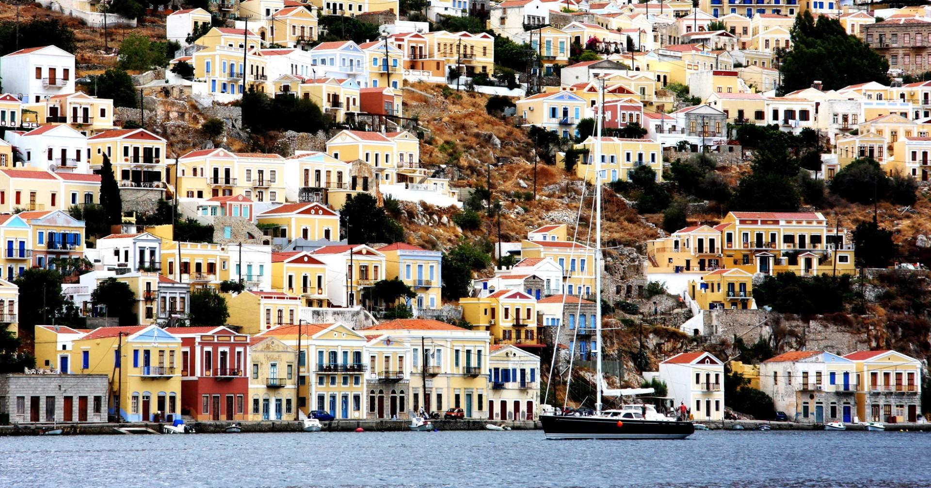 Grecia : le isole di Patmos e Simi