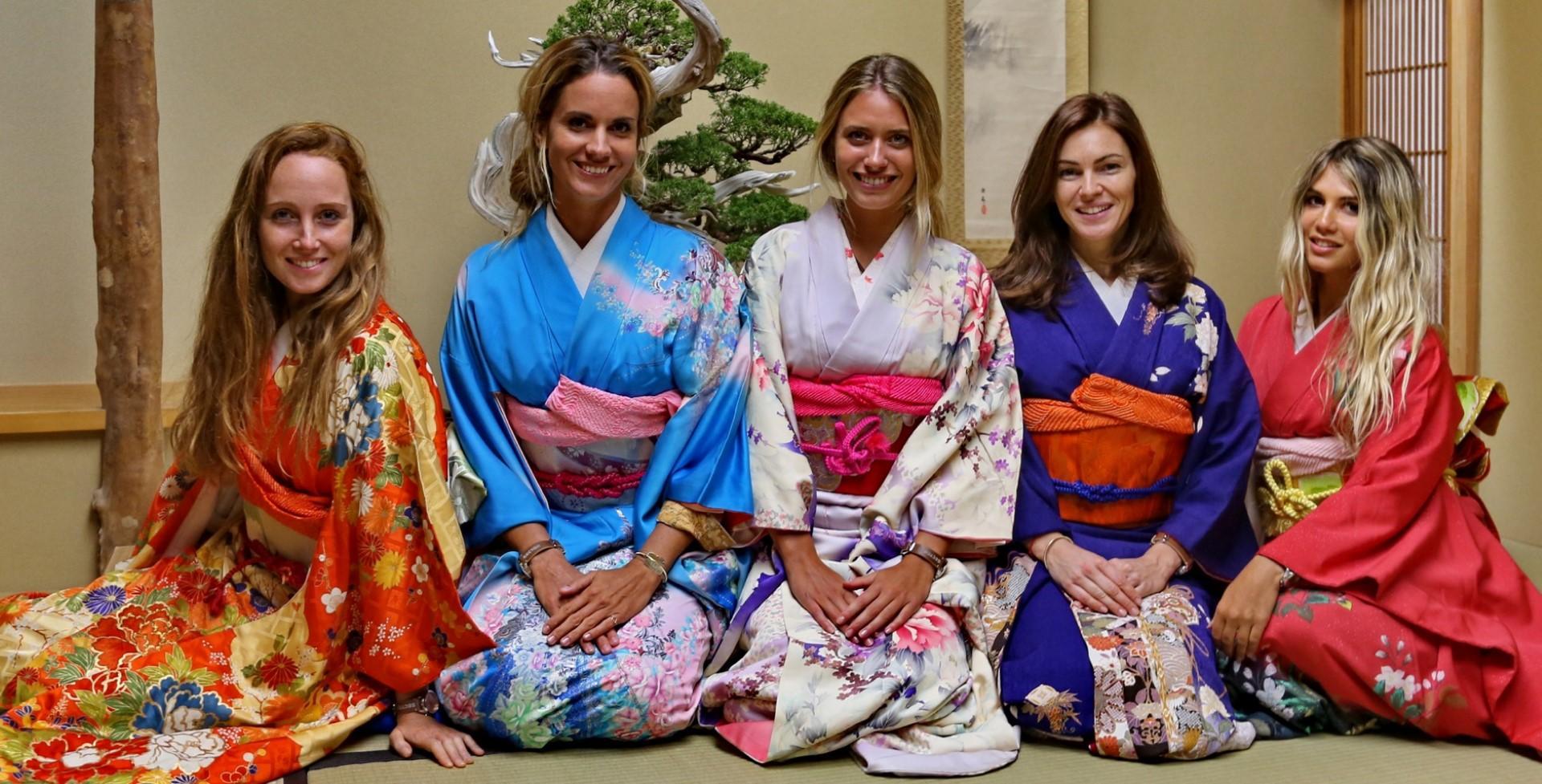 Giappone: il kimono e la cerimonia del Tè