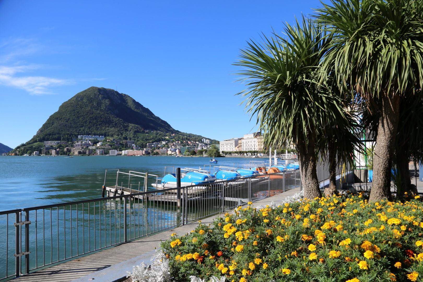 Lugano, il gioiello del Canton Ticino