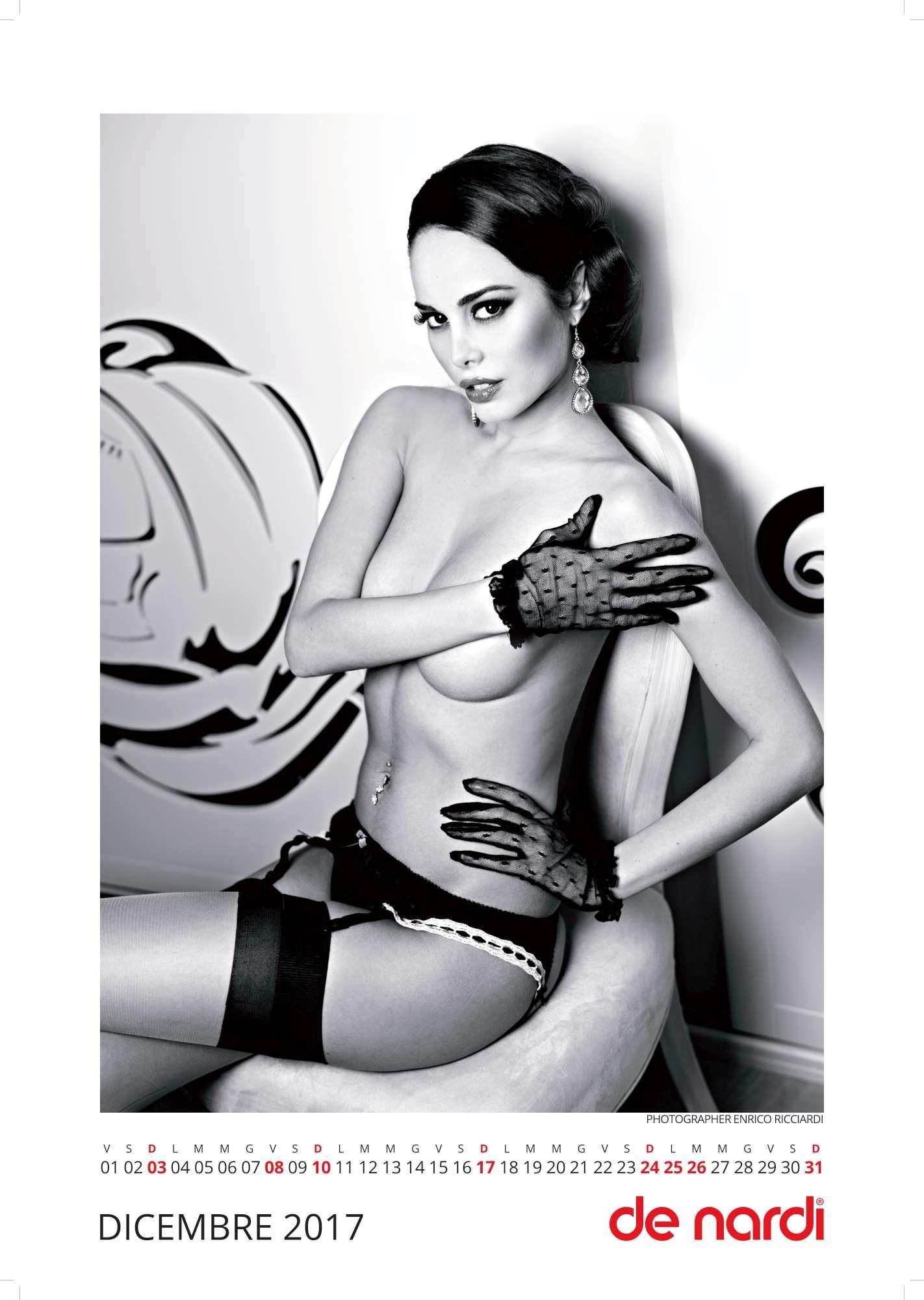 Susanna, sexy ragazza della porta accanto per il Calendario De Nardi