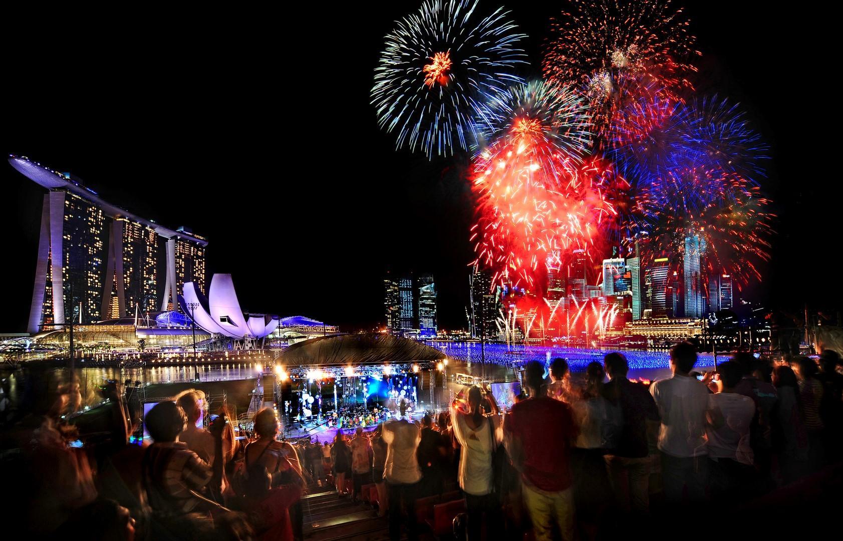 A Singapore, per passare le Feste all'equatore