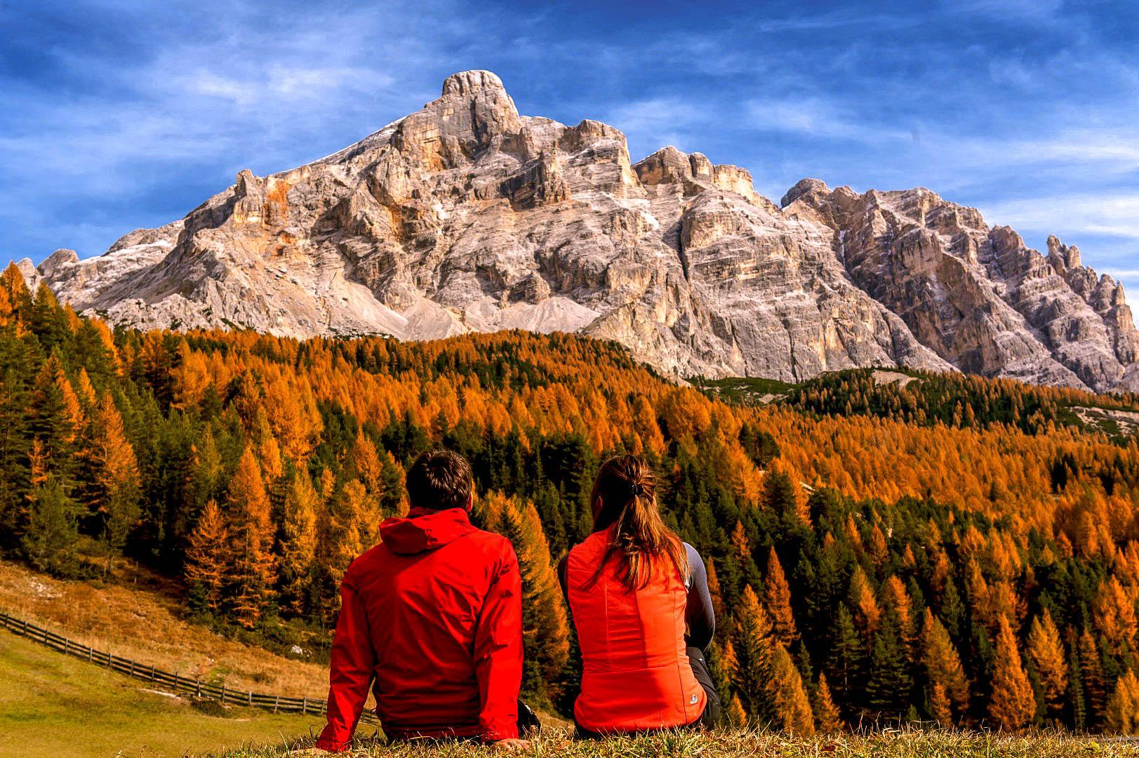 Alto Adige rosso gialllo e arancio, emozioni di stagione