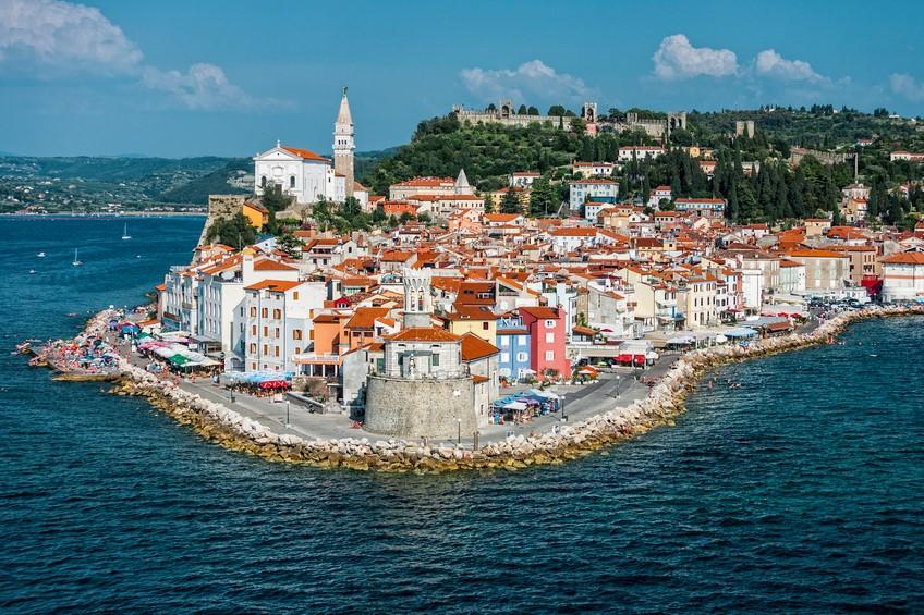 Nella slovena Pirano il benessere viene dal mare