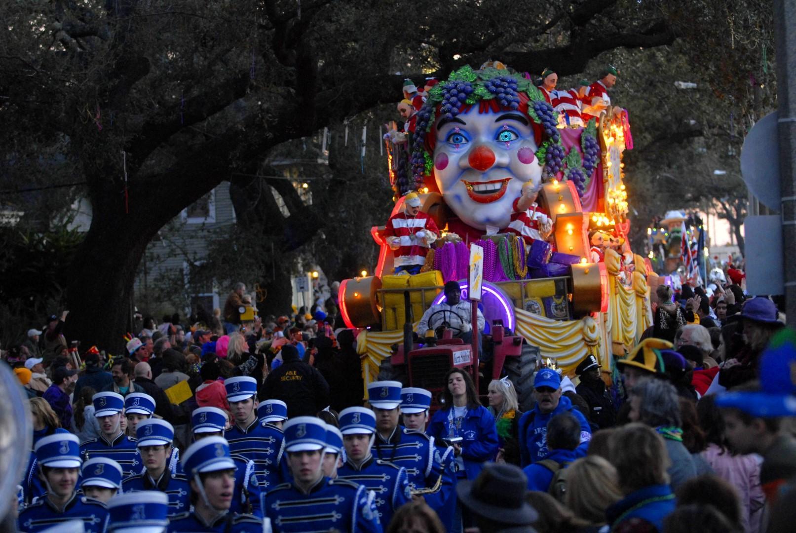 Parate al ritmo di jazz: è il Mardi Gras di New Orleans