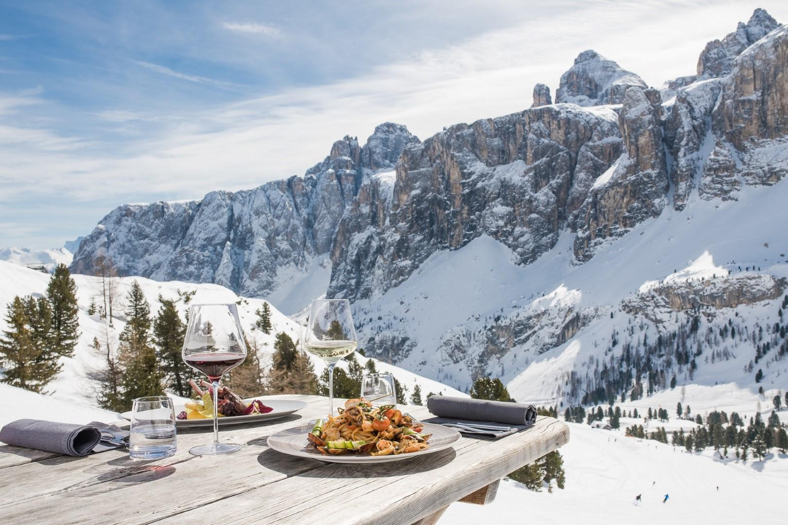 Alta Badia, sciare è un piacere anche per il palato