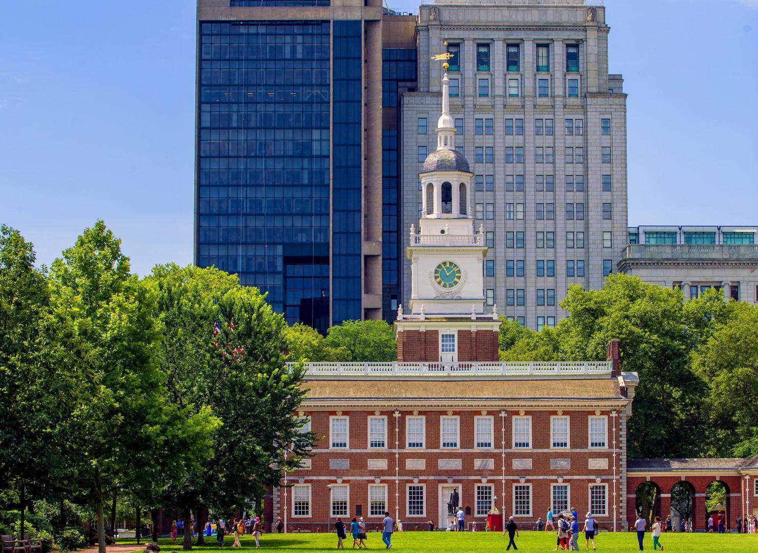 Nove selfie da Philadelphia, vecchio cuore degli USA