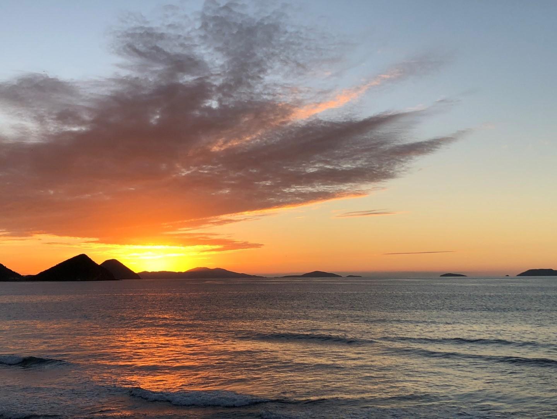 I fantasmagorici tramonti delle Isole Vergini Britanniche