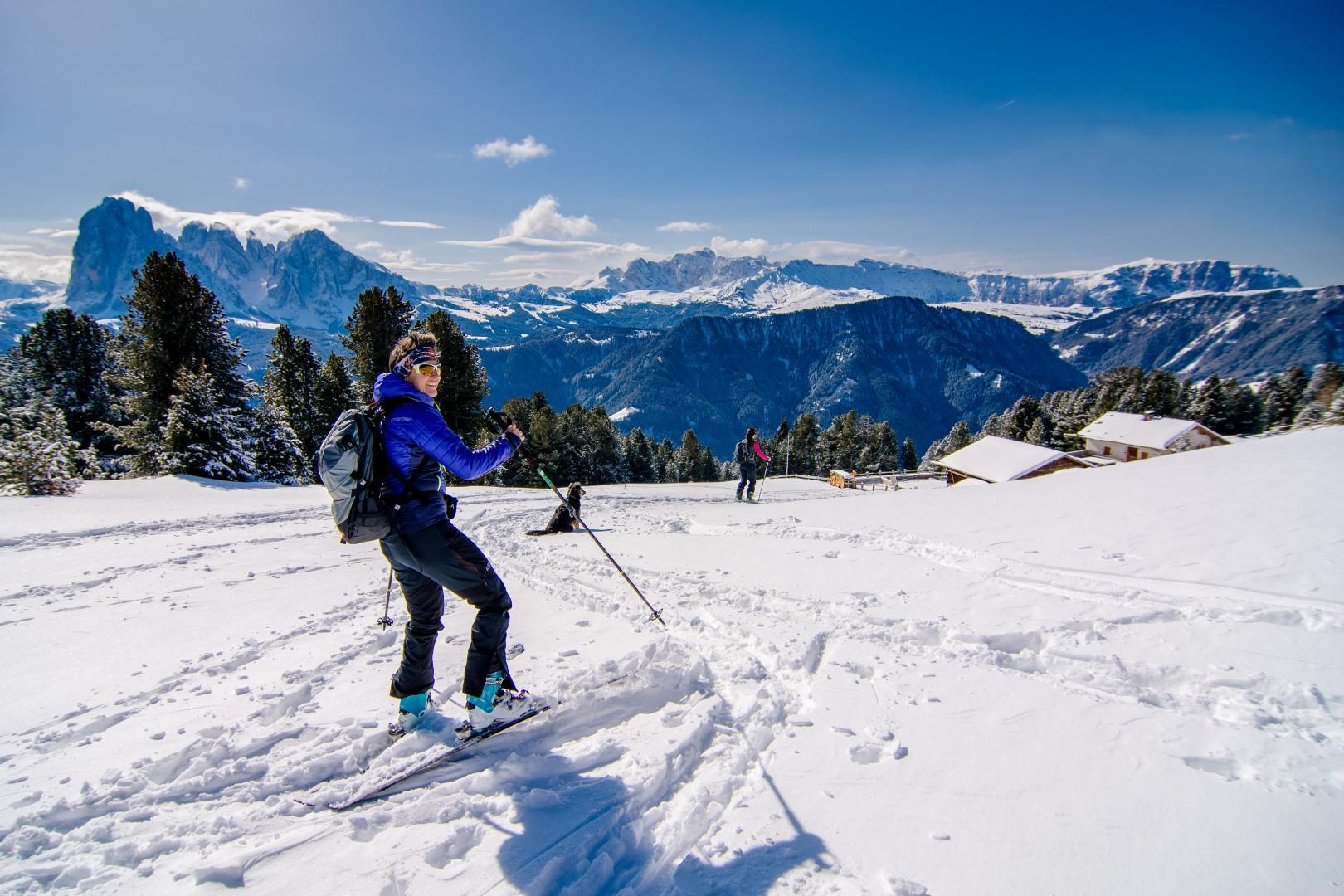 Sci: la Val Gardena sfodera il suo fascino ladino