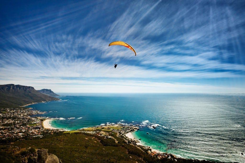 Sudafrica stupendo: ma dal cielo è ancora meglio