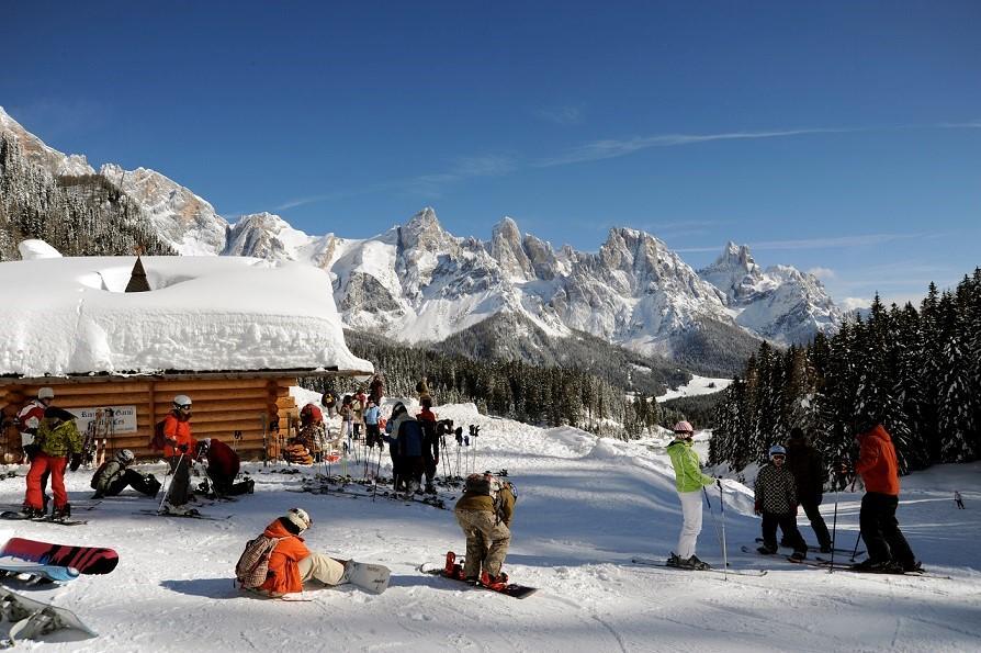 San Martino, Passo Rolle: sciare in paradiso