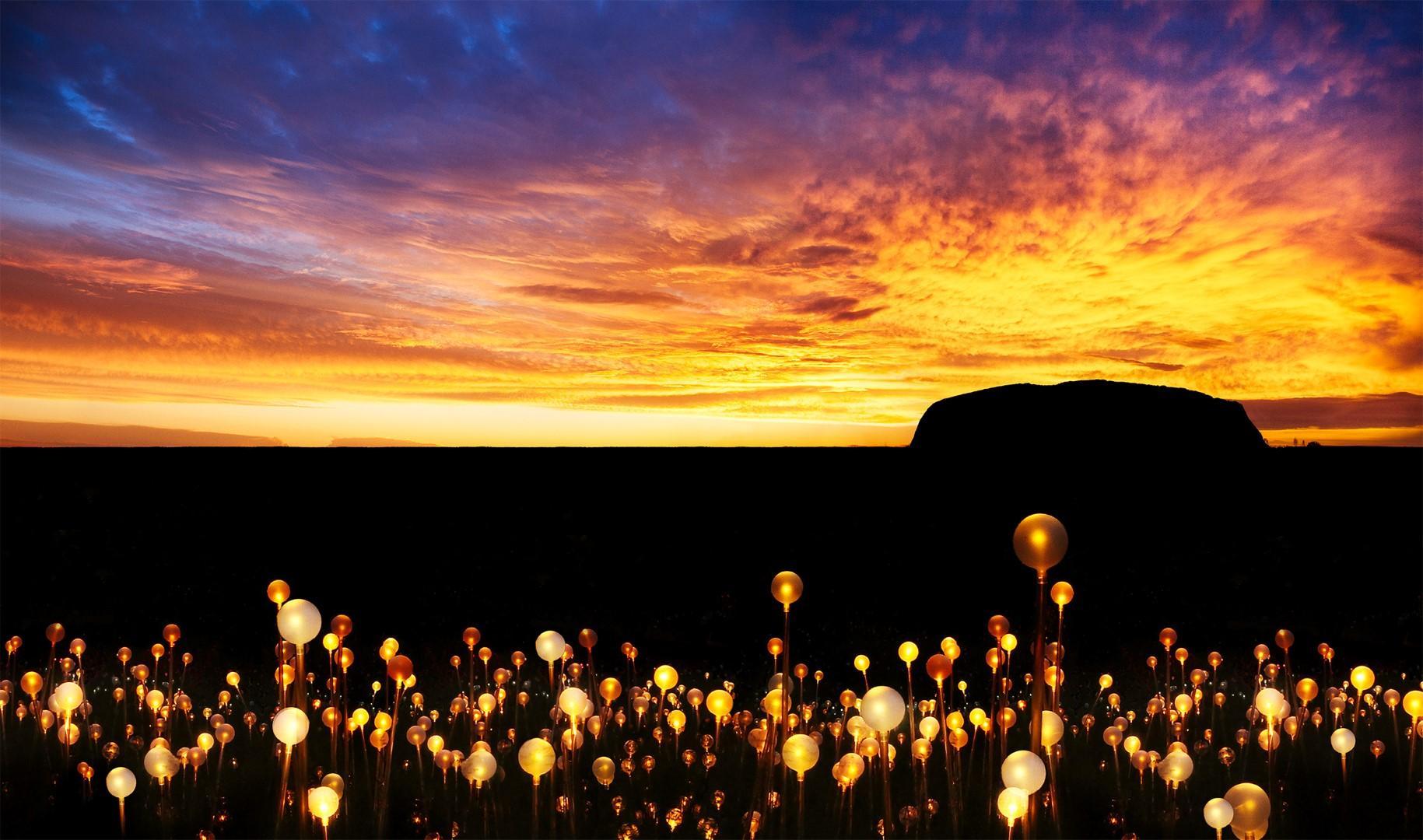 Australia: Cinquantamila luci sul mistero di Ayers Rock