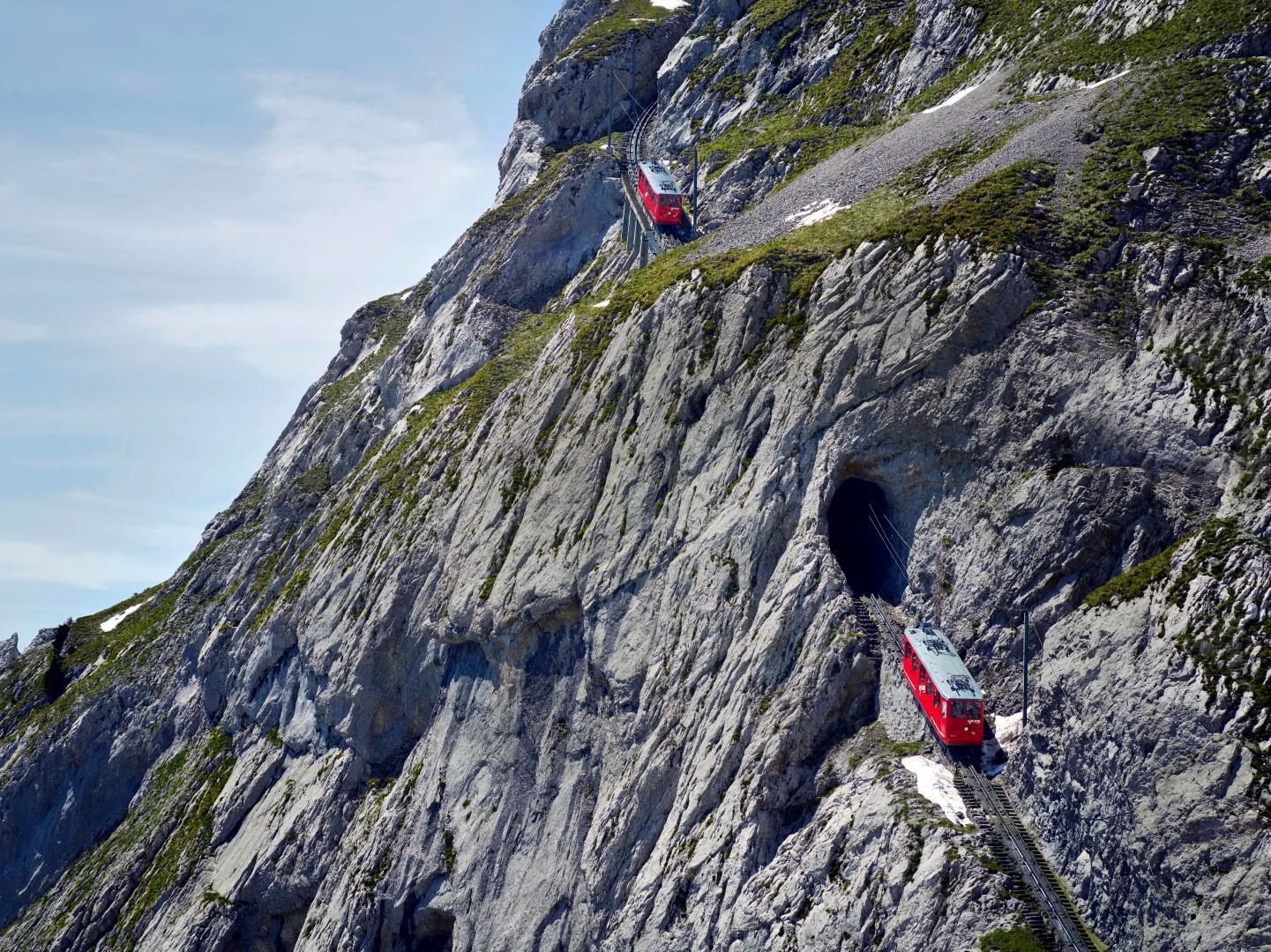 Svizzera: sul Pilatus con la cremagliera più ripida del mondo