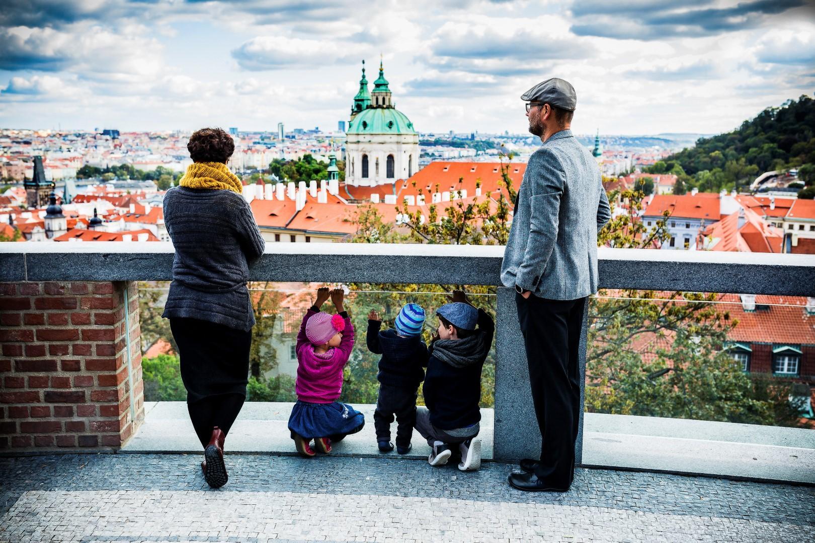 Praga è magica, soprattutto per i bambini