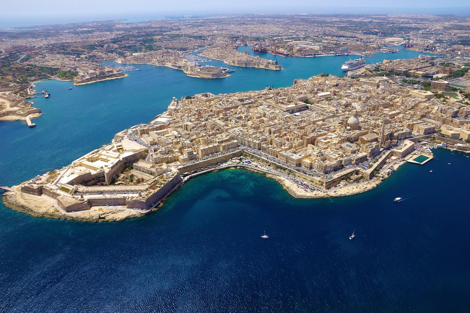 Malta 2018: La Valletta  bella come cristallo
