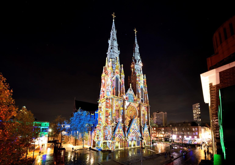 Eindhoven in Olanda, capitale della luce