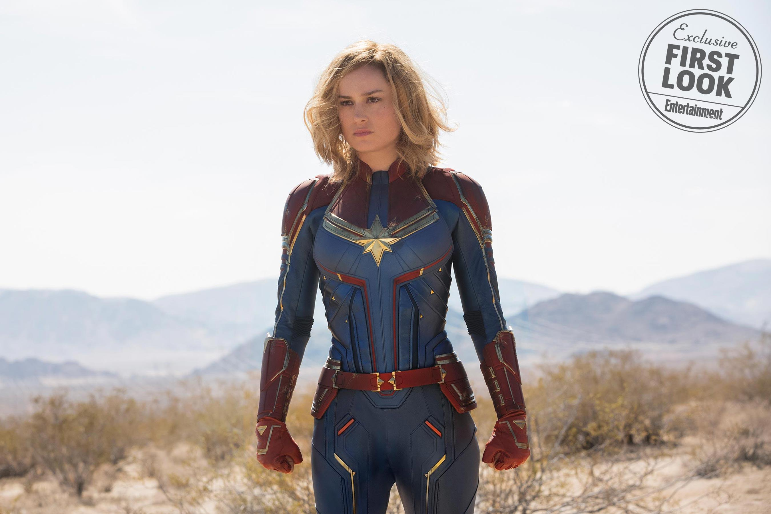 Brie Larson è Captain Marvel su Entertainment Weekly