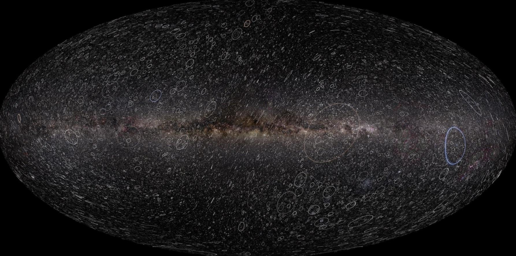 Spazio, il grande catalogo delle stelle fotografato dal satellite Gaia