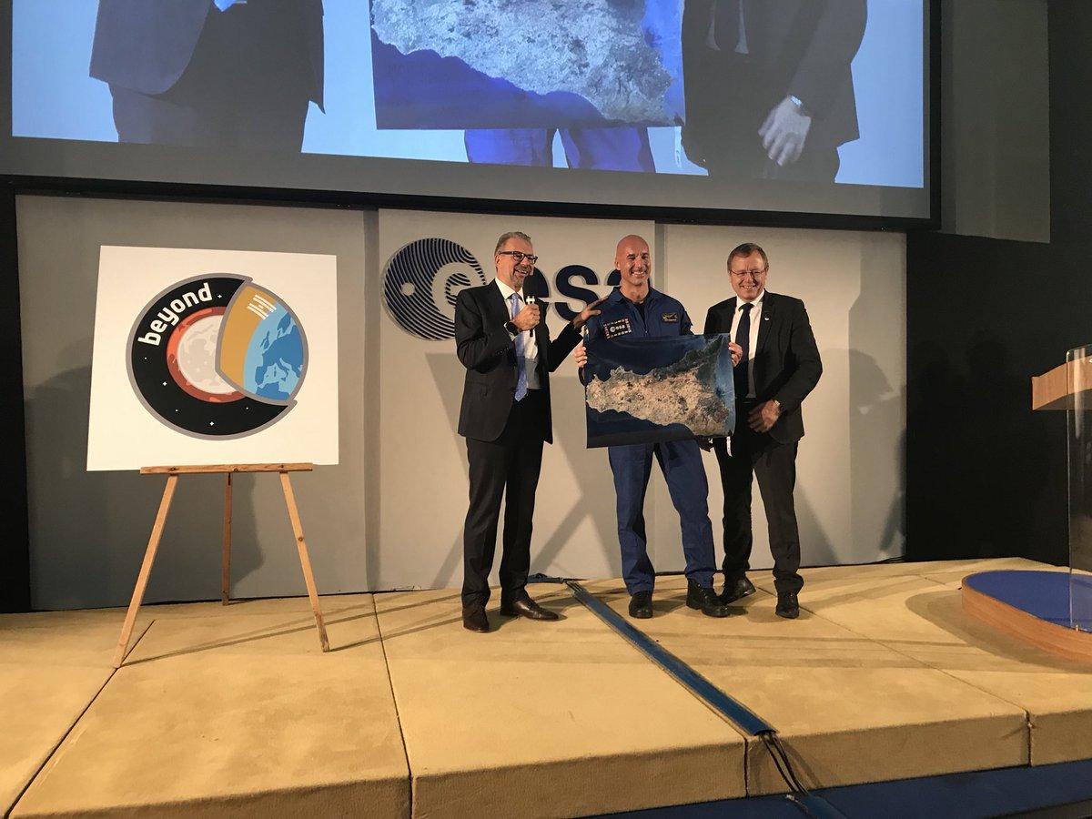 Luca Parmitano torna in orbita con la missione  Beyond