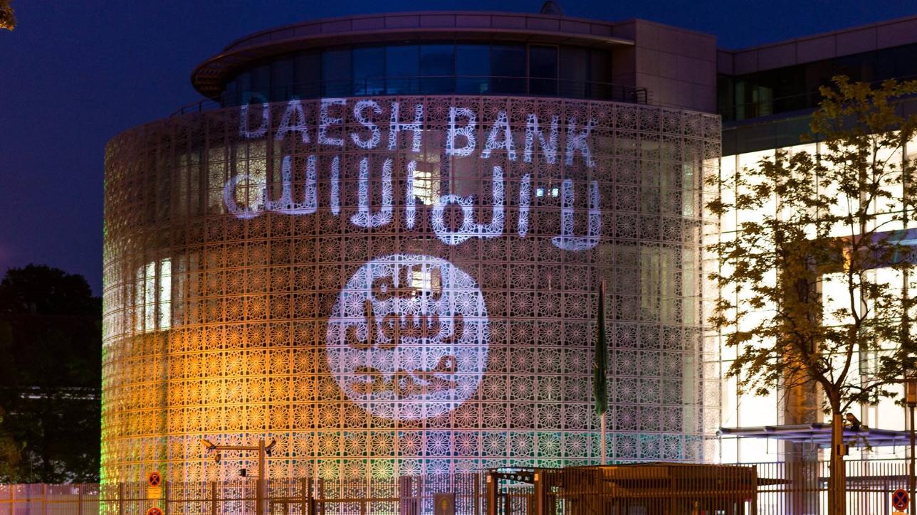Protesta a Berlino contro l'ambasciata dell'Arabia Saudita: ecco la banca dell'Isis