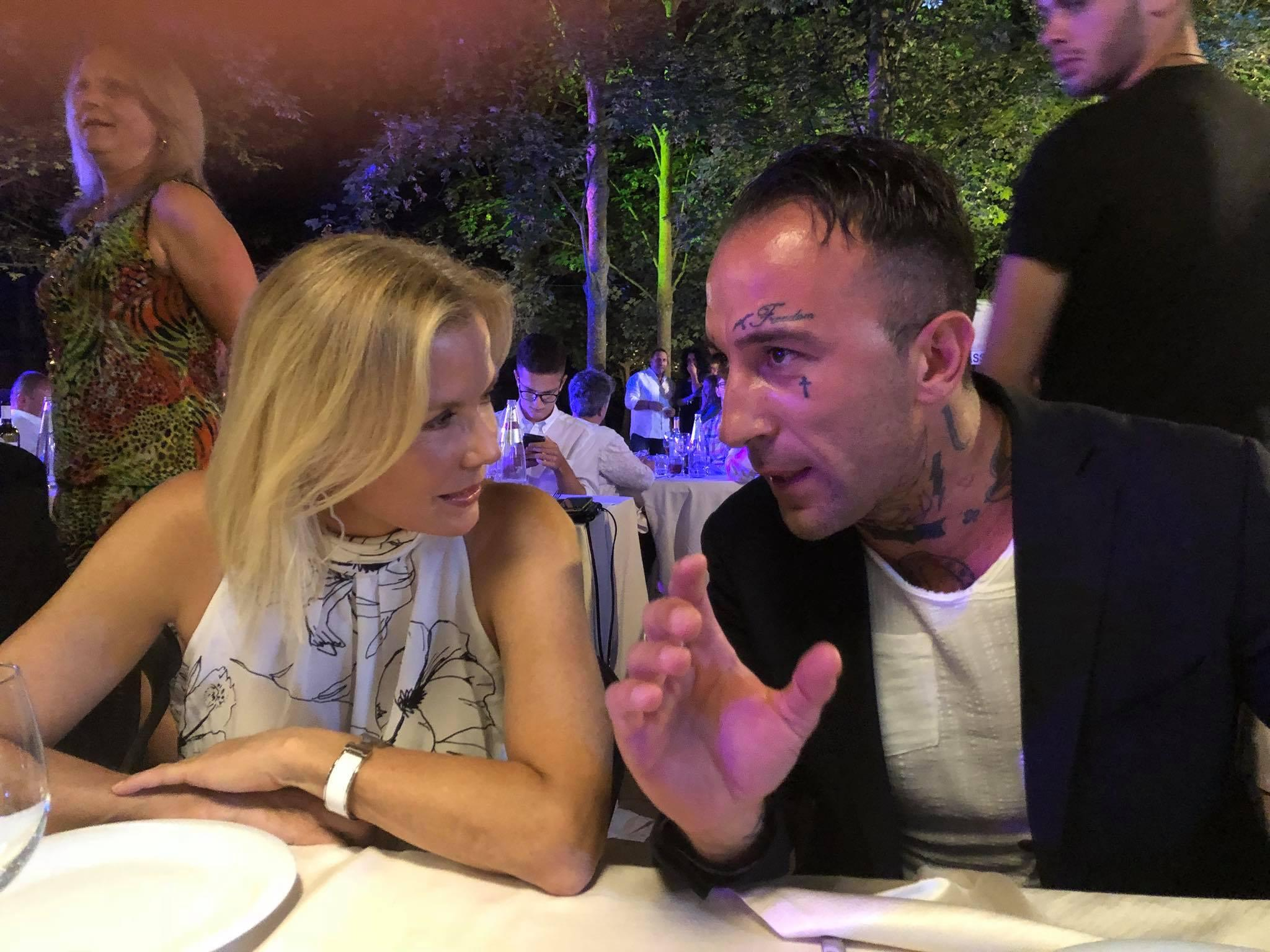 Simone Coccia cena con Brooke-Katherine Kelly Lang: che  Beautiful  coppia!!!