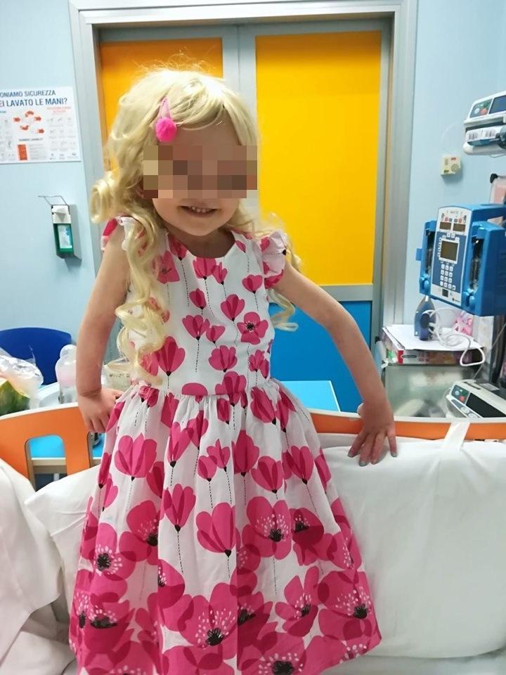 #salviamoElisa, spegne 5 candeline la piccola che da due anni e mezzo lotta contro una rara leucemia:  Il regalo sarà un secondo trapianto