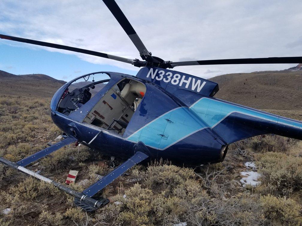 Usa, alce abbatte un elicottero