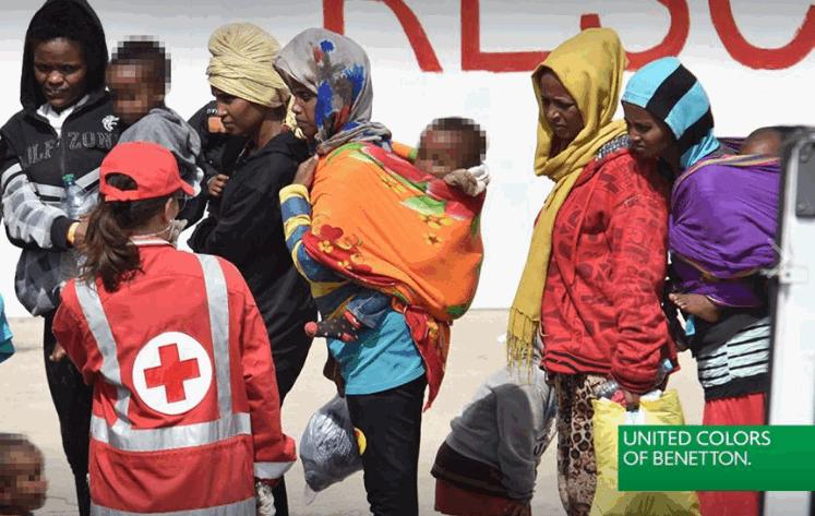 Migranti come testimonial: la nuova campagna pubblicitaria della Benetton