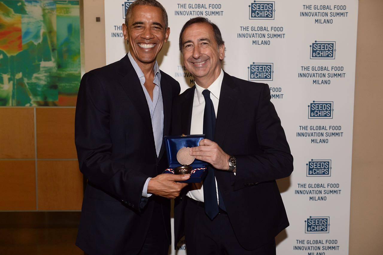 A Barack Obama le chiavi della città di Milano