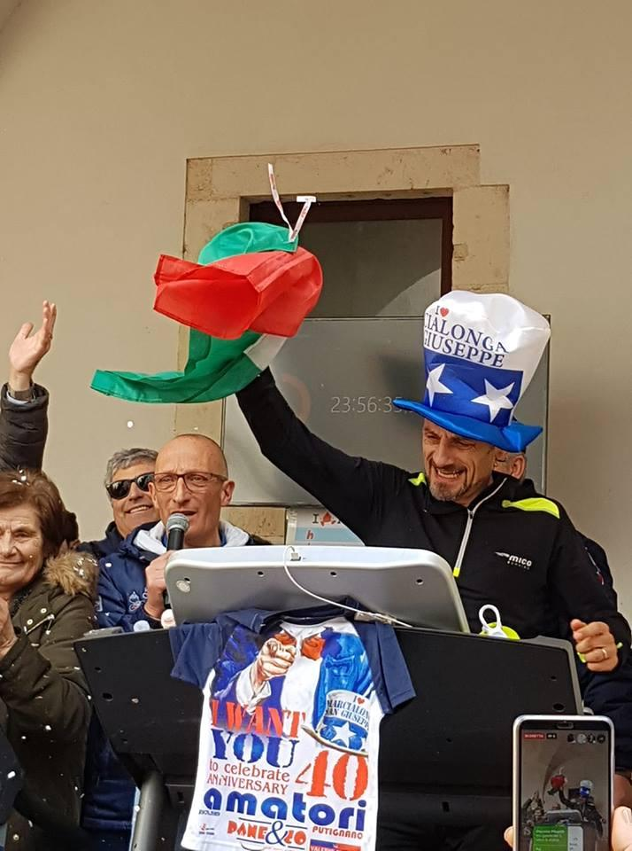 A Putignano assegnato il titolo mondiale di corsa sul tapis roulant: oltre 265 chilometri in 24 ore