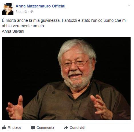 E  morto Paolo Villaggio, il saluto dei vip sui social