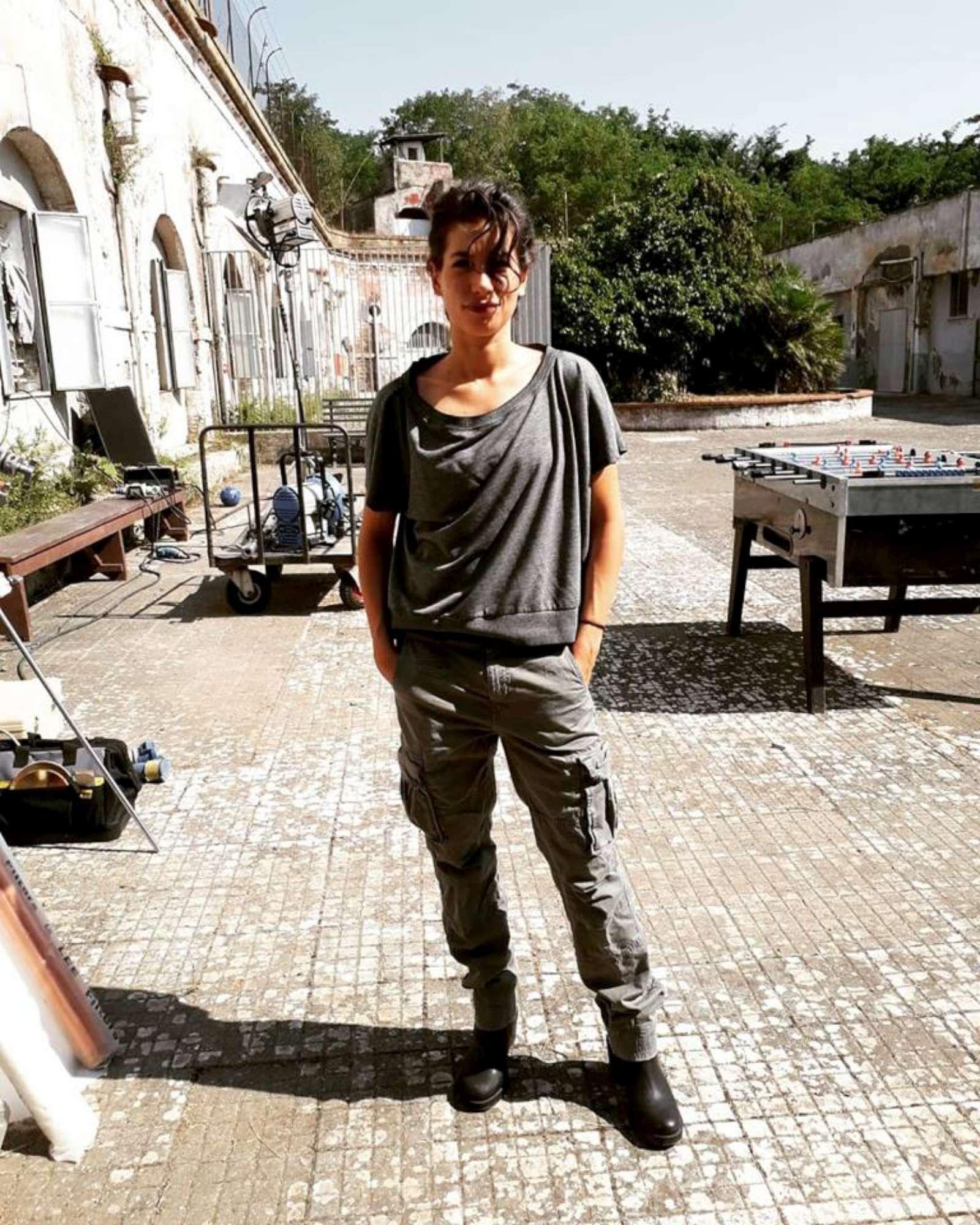 Rosy Abate , gli scatti dal set della seconda stagione
