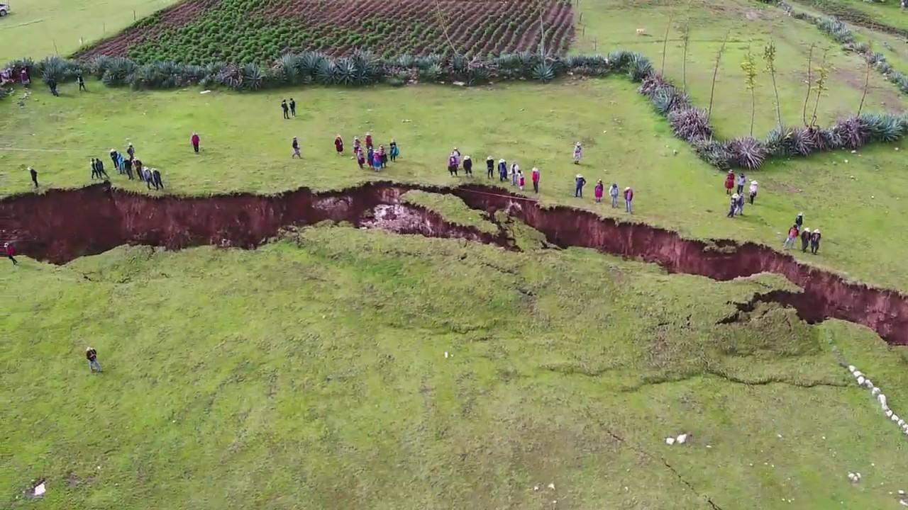 La misteriosa spaccatura che rischia di far sparire Machu Picchu