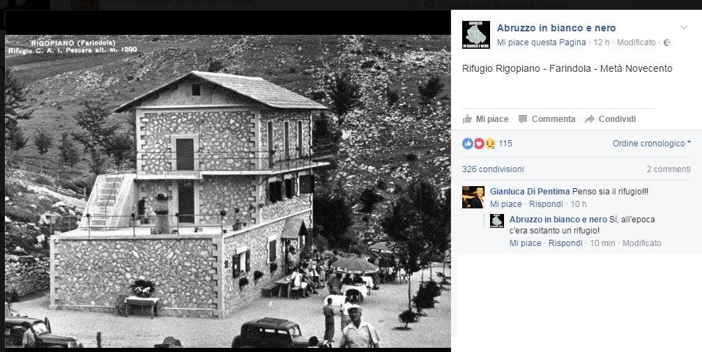 Hotel Rigopiano, ecco com era a metà del Novecento