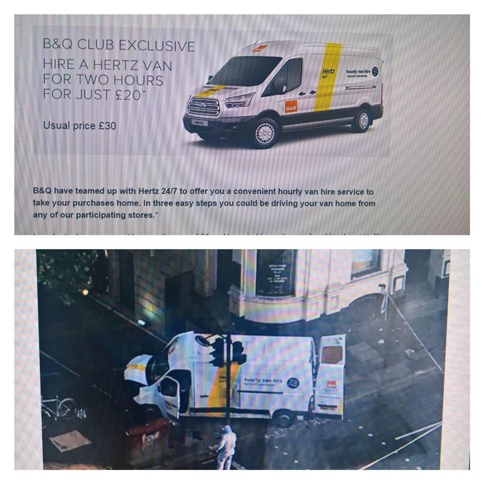 Londra, furgone usato nell attacco noleggiato per 20 sterline