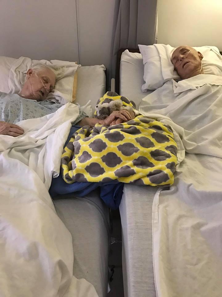 Thomas e Delma, 62 anni di matrimonio e l'addio nello stesso giorno