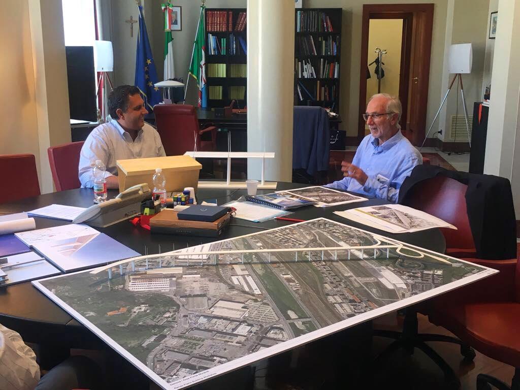Genova, ecco il ponte di Renzo Piano