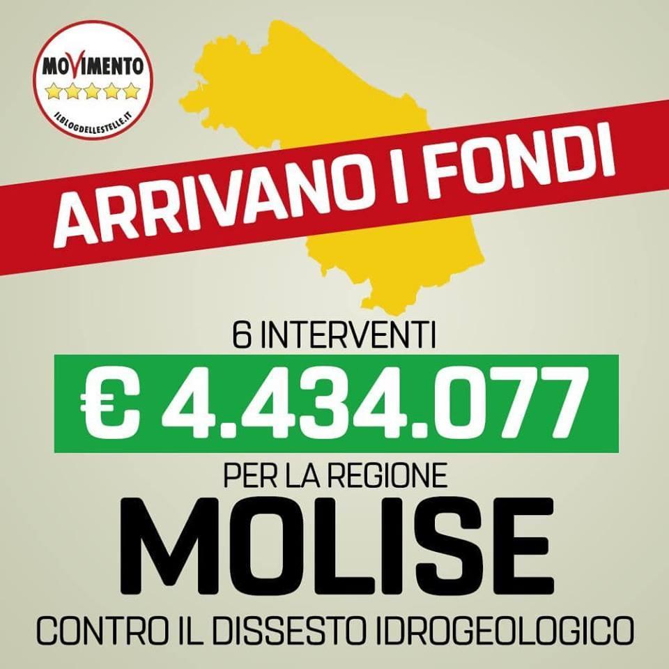 M5s annuncia fondi per il Molise ma la cartina è delle Marche, l ironia social:  Il vento del cambiamento sposta le regioni